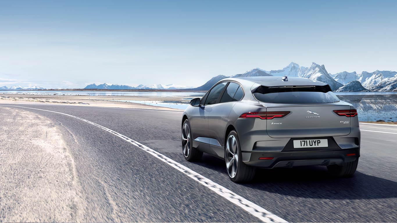 THE JAGUAR I-PACE FIRST EDITION IN CORRIS GREY