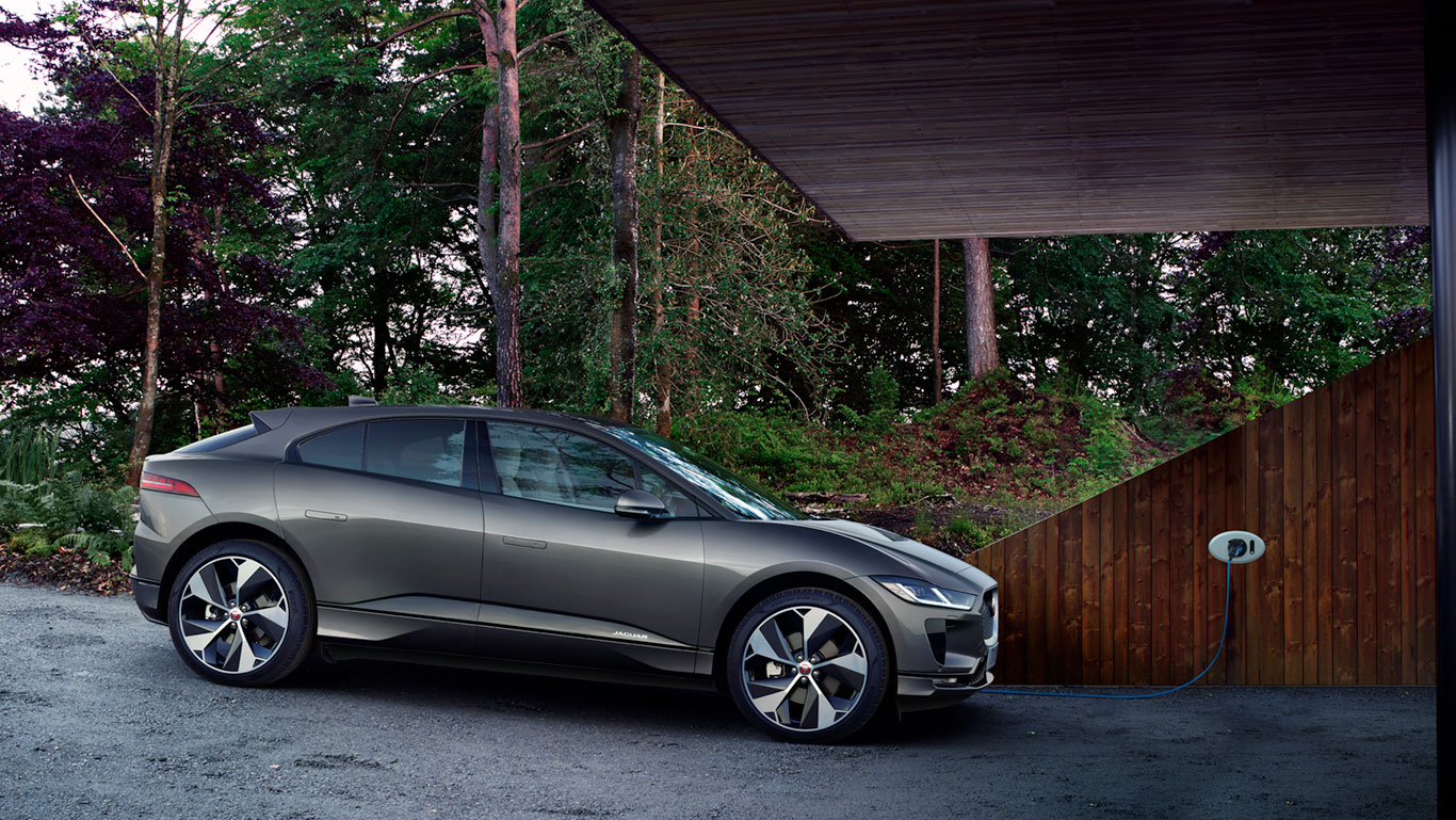 CHARGE I-PACE FROM THE COMFORT OF YOUR HOME