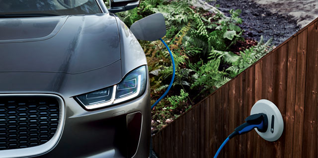 Jaguar I-Type Home Charging