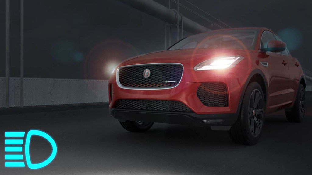 Jaguar E-Pace - Automatic Lamps and Auto High Beam Assist
