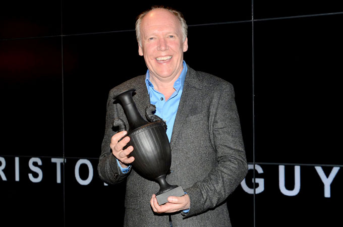 Ian Callum With His Britweek Design Icon Award.