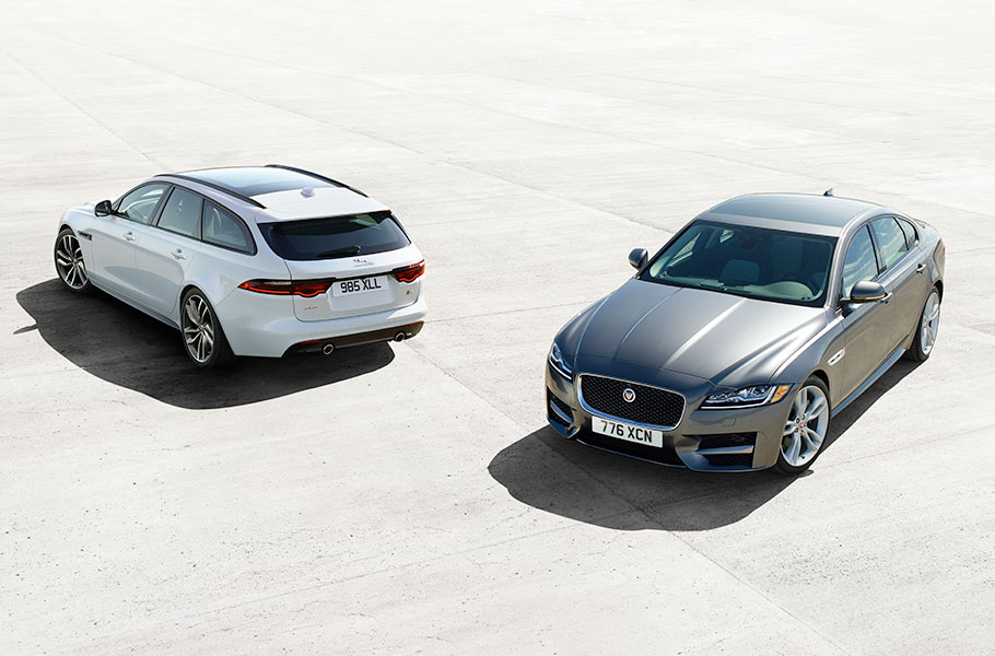Jaguar XF Sportbrake and Jaguar XF Sedan