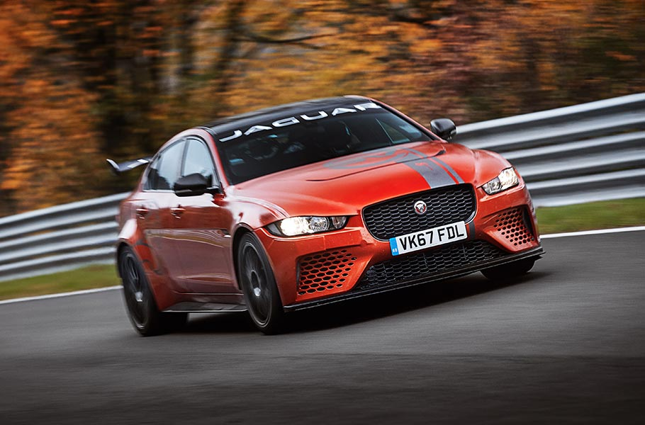 XE PROJECT 8 DRIVING ON RACE TRACK