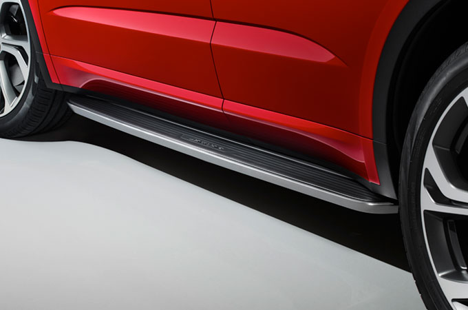 Image showing Jaguar E-Pace's Fixed Side Steps