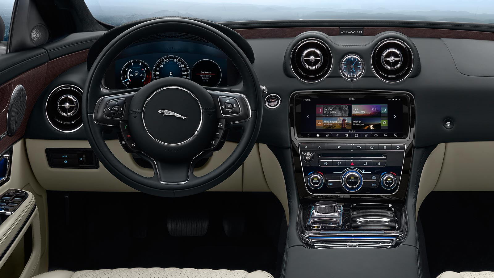 XJ Portfolio Interior Dashboard.