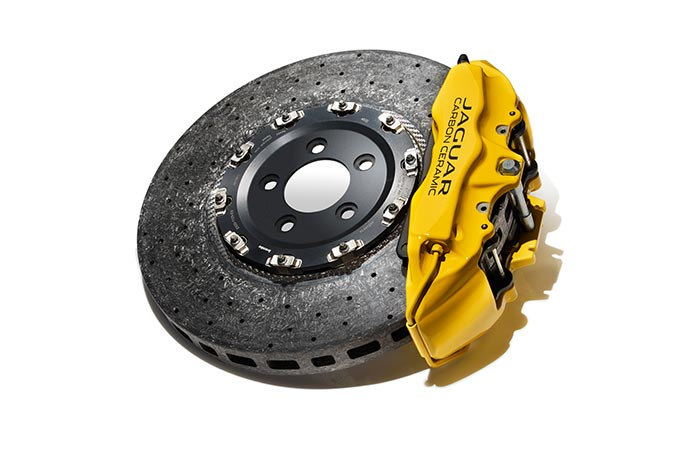 A Jaguar Wheel Brake.