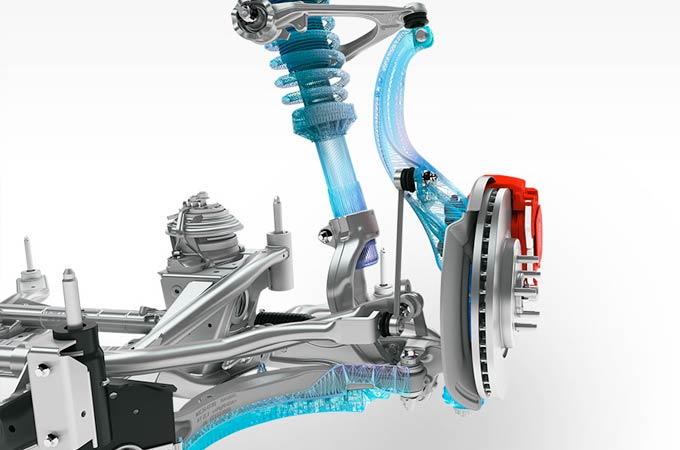 Jaguar XF Suspension.