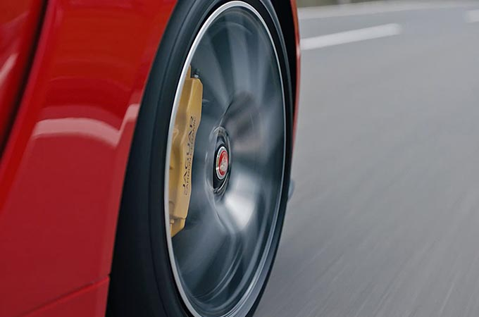 Jaguar F-Type Wheel.