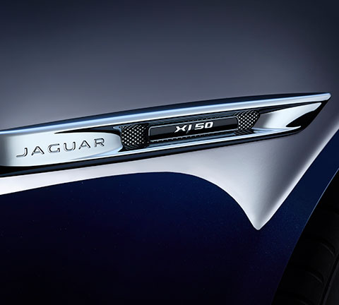 Jaguar XJ50 Unique Badging