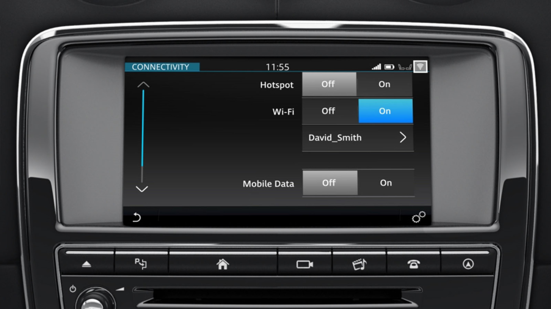 Jaguar XJ's InControl Touch Pro: Connectivity information video.