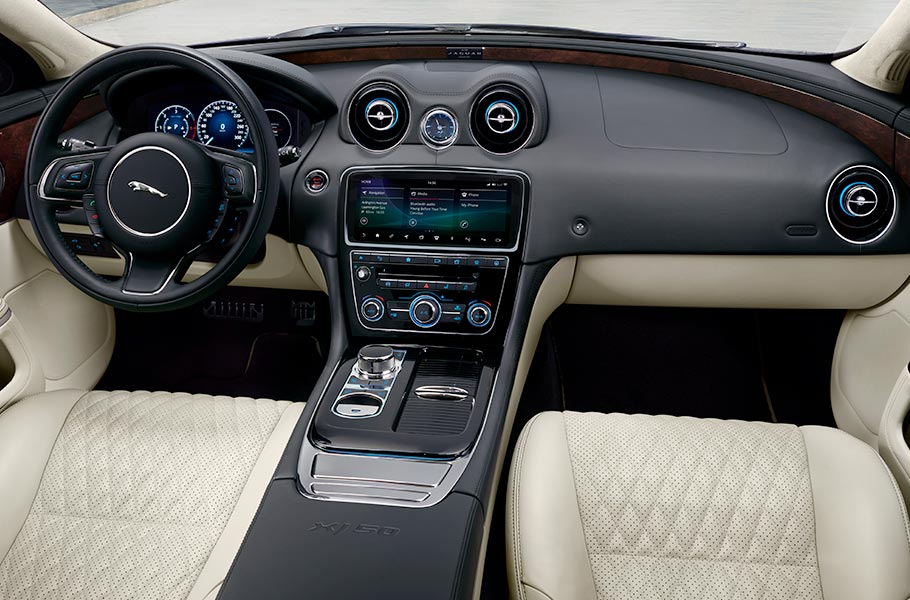 Jaguar XJ50 Luxury Interior Design