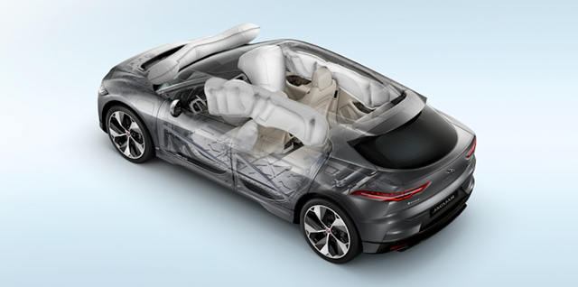 Jaguar I-Pace Airbags