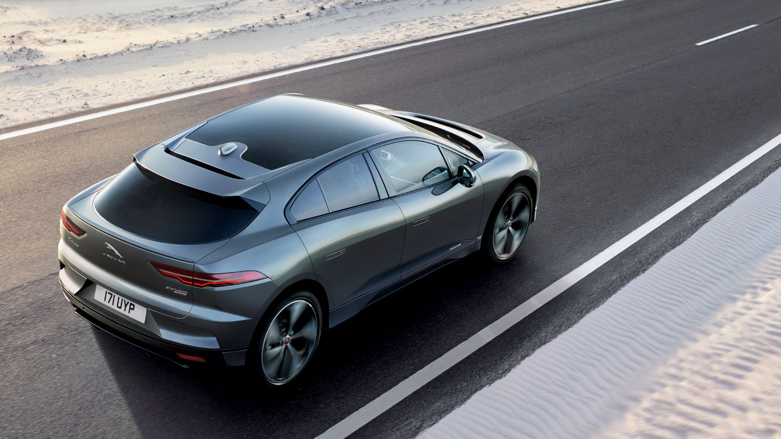 Jaguar I-Pace Low Traction Launch