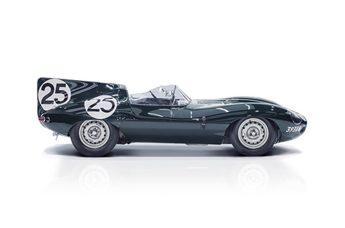 Jaguar D-TYPE.