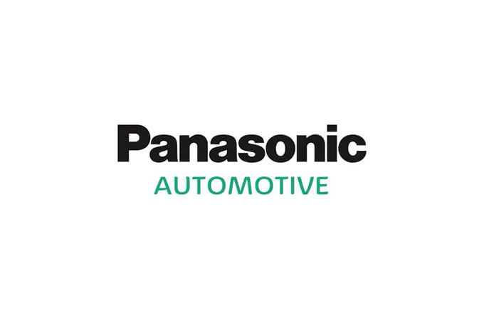 Logo of Jaguar Racing partner, Panasonic.