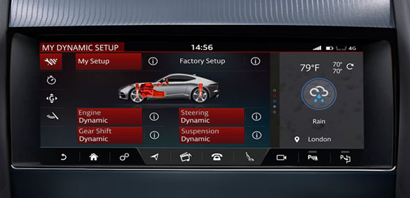 Jaguar F-Type Configurable Dynamics