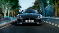 THE F-TYPE R-DYNAMIC AWD IN SILICON SILVER WITH OPTIONAL FEATURES FITTED.