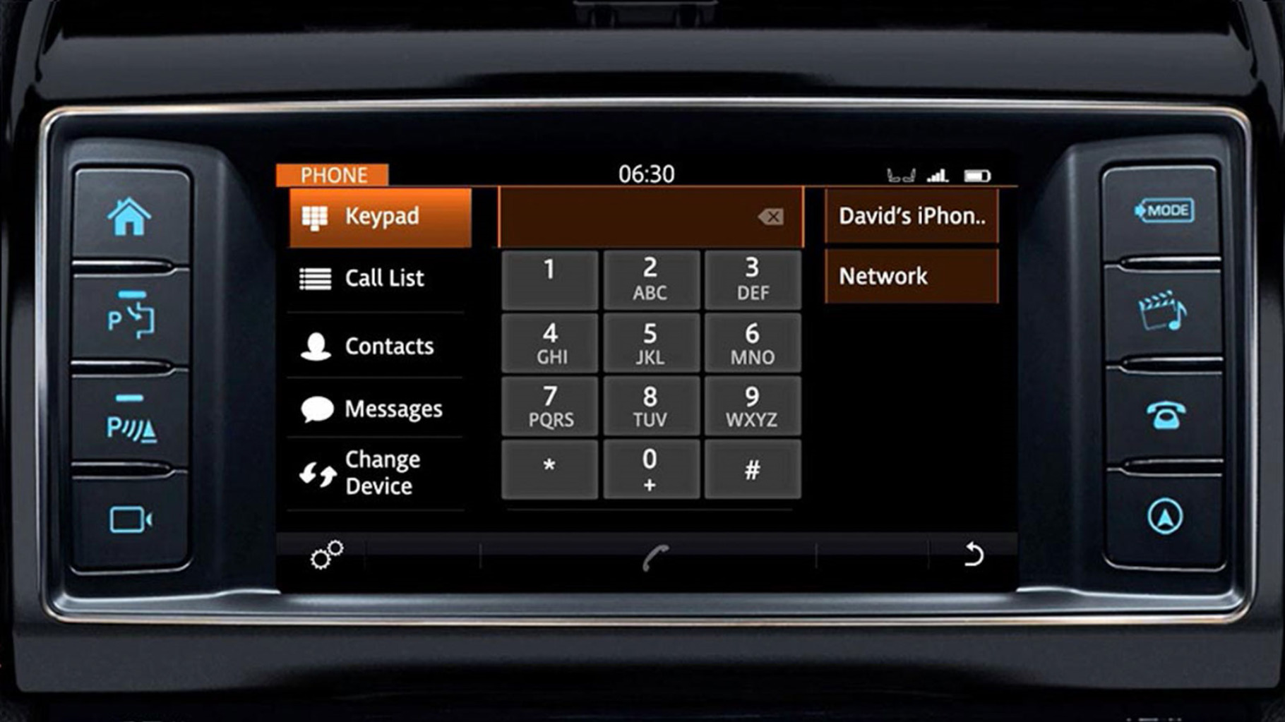 Jaguar F-PACE's InControl Touch: Bluetooth Phone Operation information video.