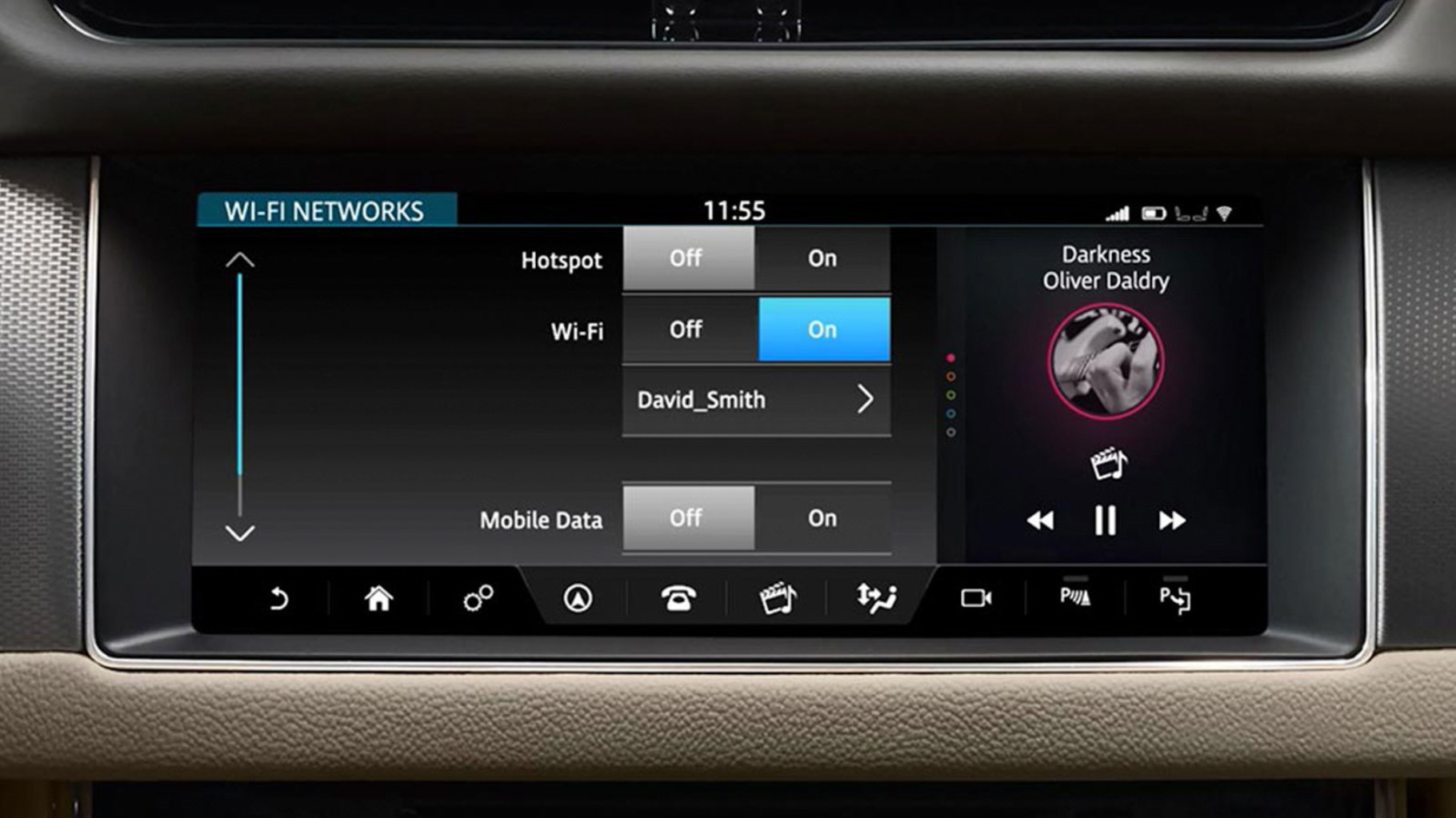 Jaguar XF Connectivity