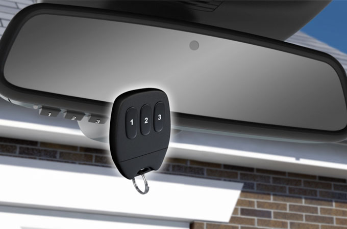 Jaguar XF Garage Door Opener