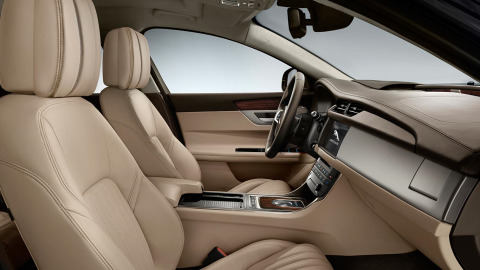 Jaguar XF Portfolio Interior Design