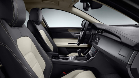 Jaguar XF RSport Interior Design