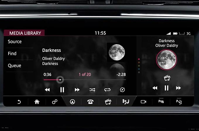Jaguar XE Incontrol Touch Pro Live Updates Illustrated on Screen
