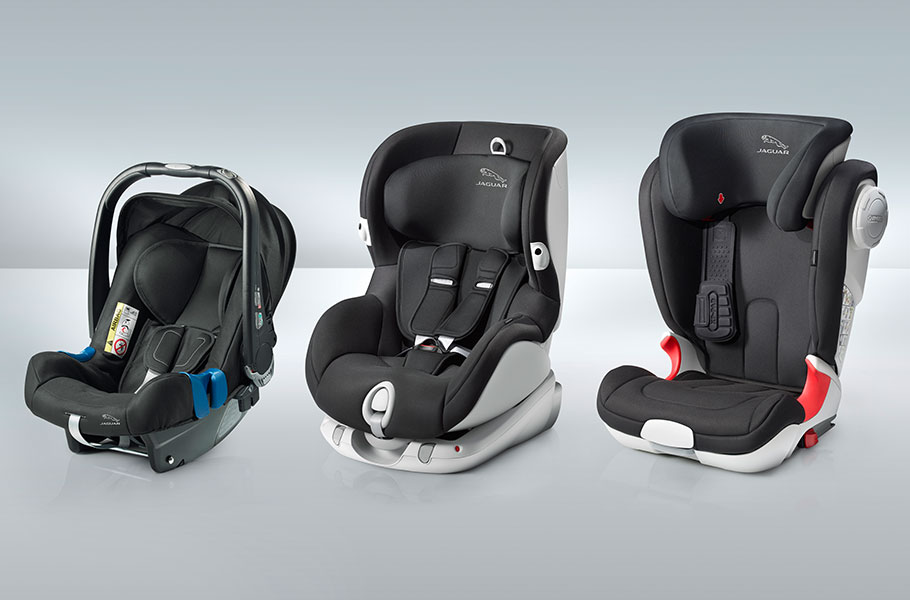 XJ compatible child seats to keep little ones safe and secure