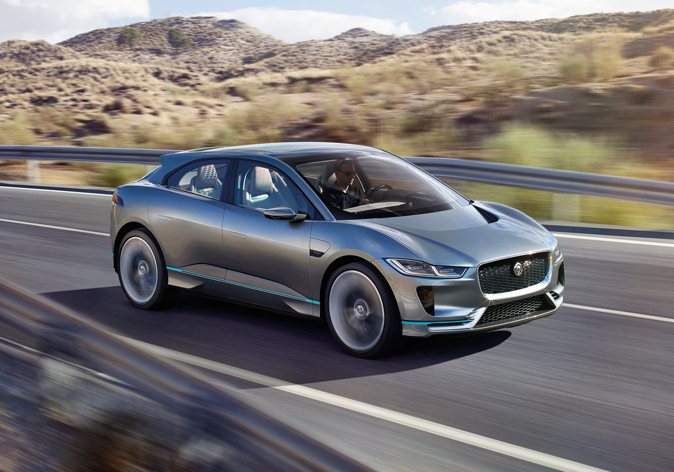 Jaguar I-Pace Concept Aerodynamically Stunning.
