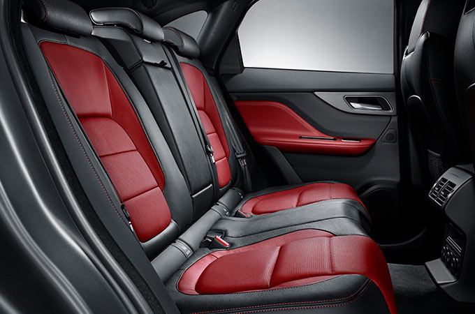 Jaguar F-Pace Rear Space.
