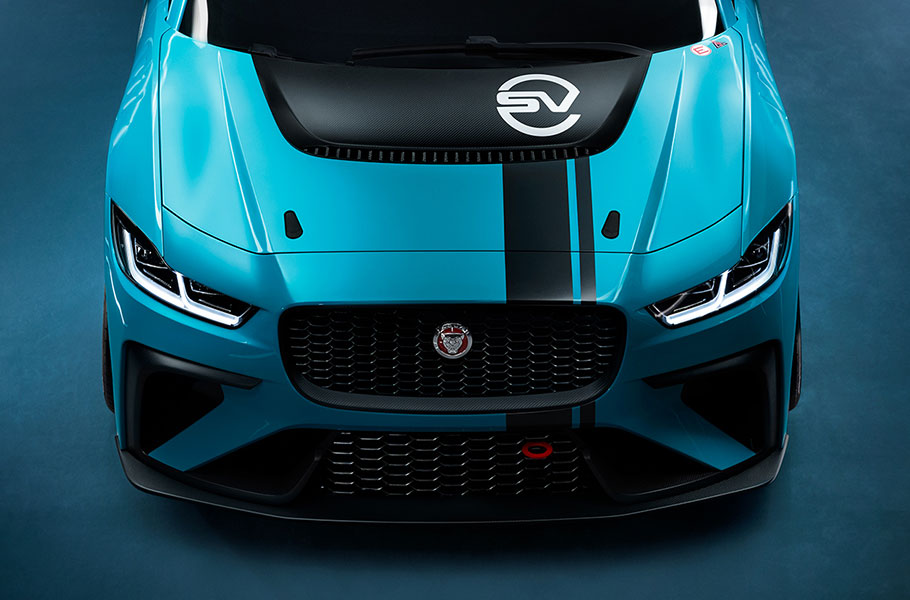 Jaguar Land Rover Special Vehicle Operations Team for all electric I-PACE