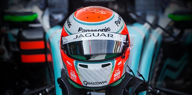 Jaguar Panasonic Driver Racing Helmet