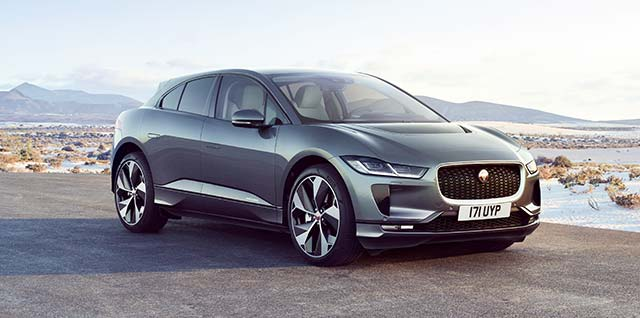 Grey Jaguar I-PACE