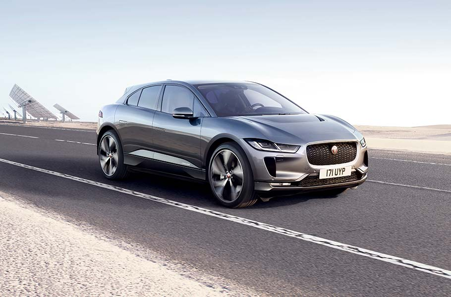 Jaguar Grey I-PACE Electric