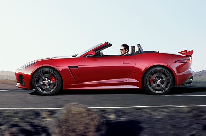 Jaguar F-Type SVR Aerodynamics