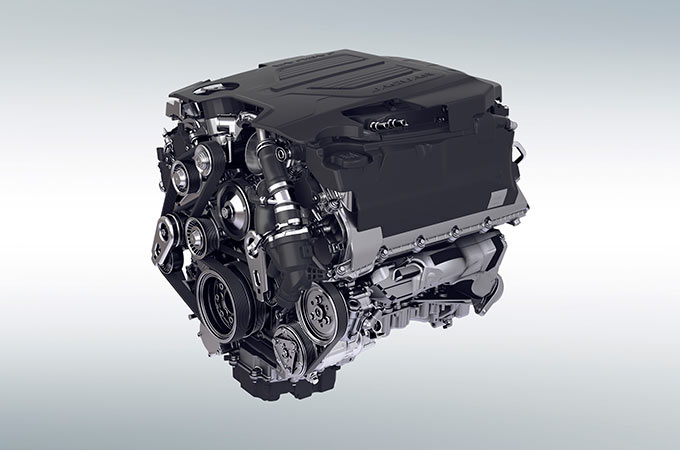 Jaguar F-Type SVR Engines