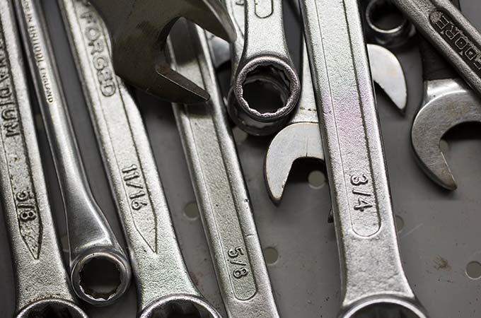 A collection of spanners.