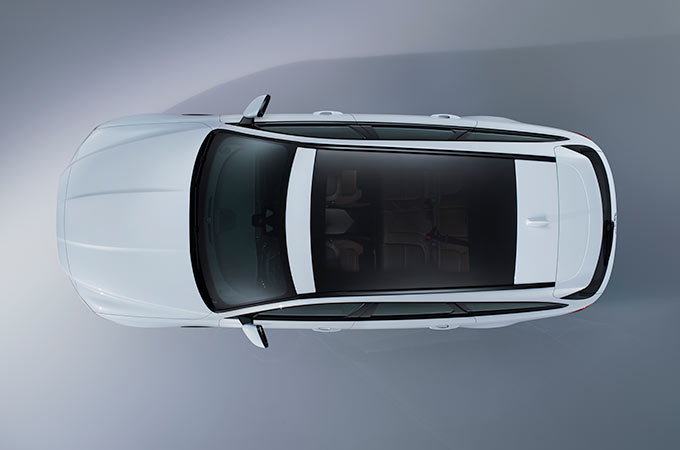 Jaguar XF -Panoramic Roof
