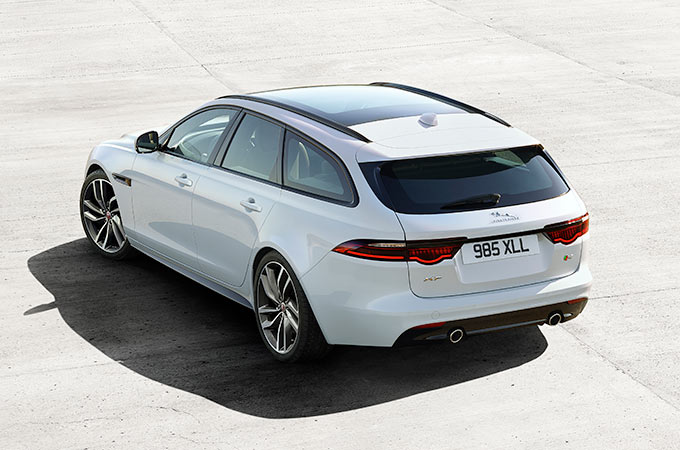 Jaguar XF Sportbrake - Practical on Purpose