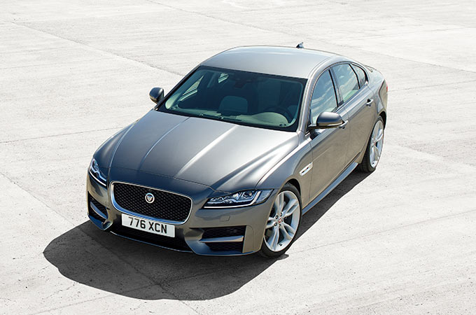 Jaguar XF -The Line of Beauty