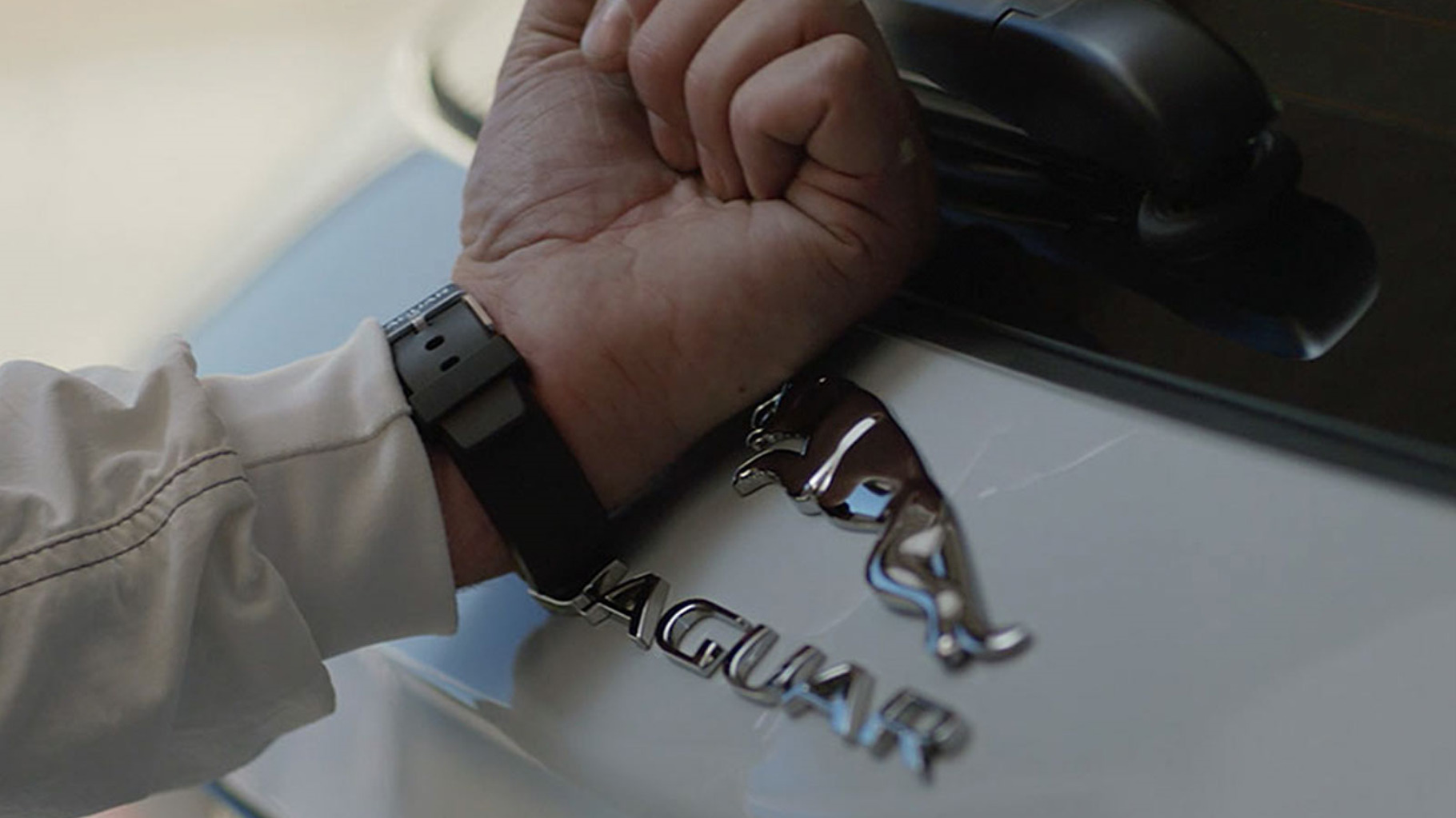 Jaguar XF Activity Key feature.