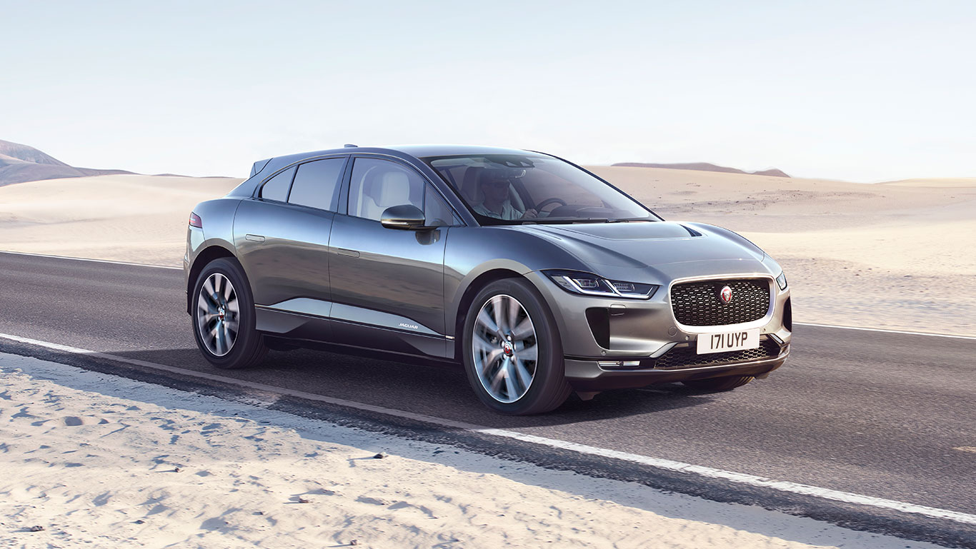 JAGUAR I-PACE FIRST EDITION NA COR CINZA CORRIS