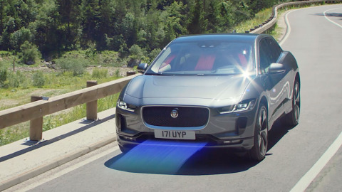 All Electric Jaguar I-PACE Heat Pump