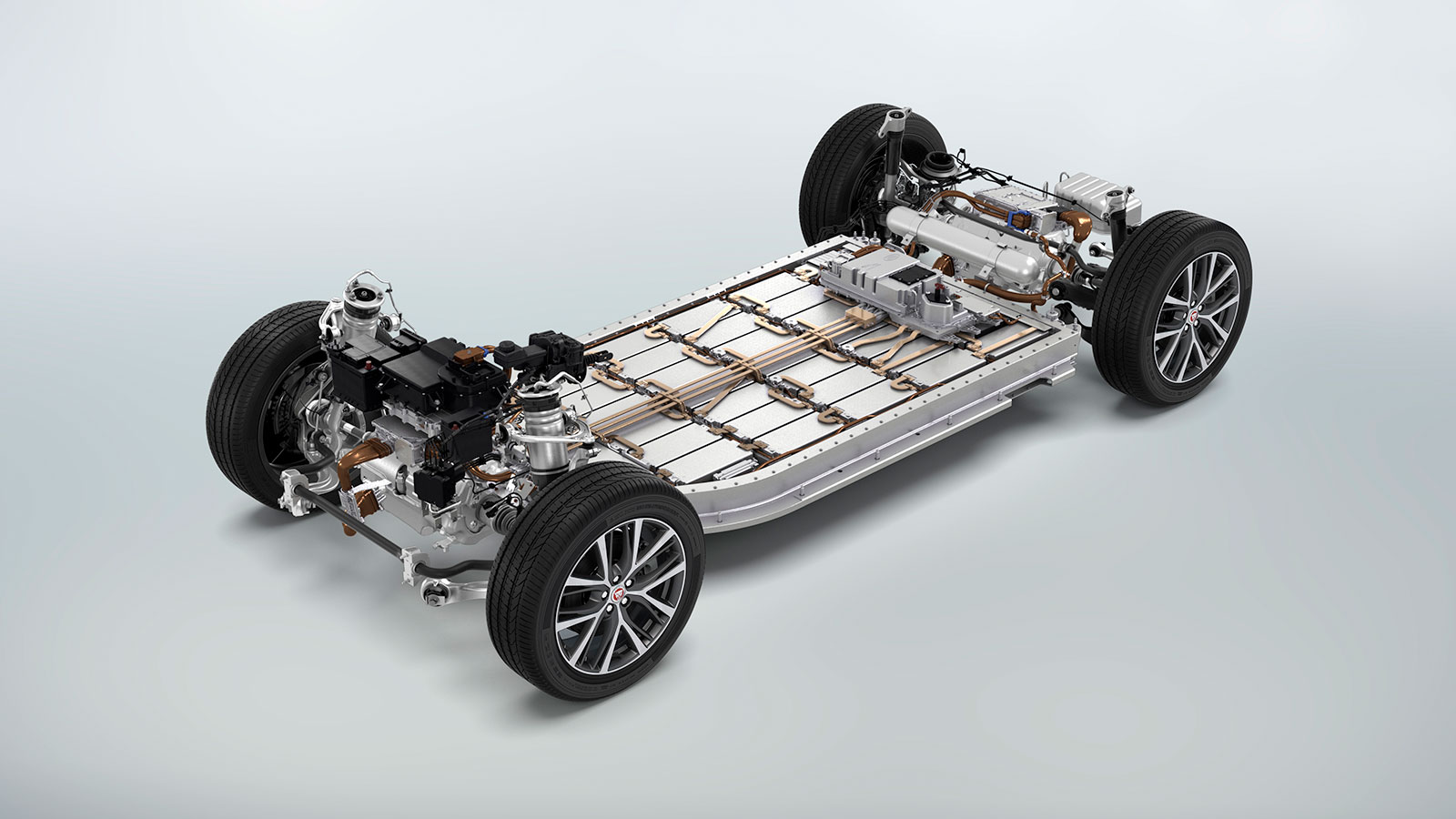 The Jaguar I-PACE Battery Unit