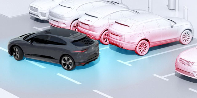 Jaguar I-PACE 360 Surround Camera