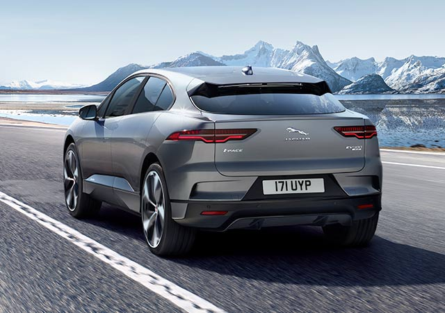Jaguar I-PACE EV Electric Vehicle
