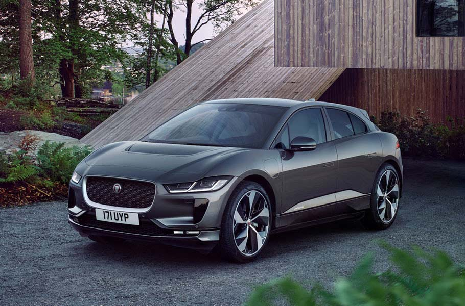 Jaguar I-Pace Moving Lines
