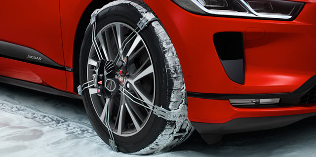 Jaguar I-PACE All Electric Snow Accessory