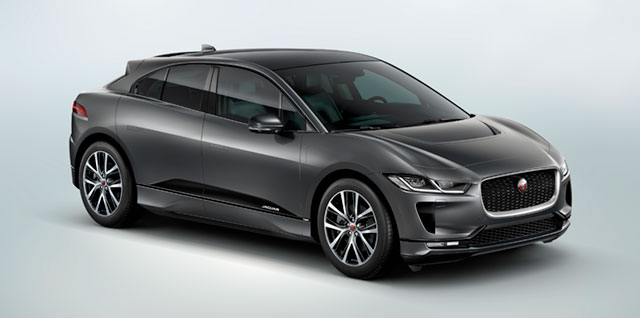 I-PACE All Electric Jaguar Car First Edition Model
