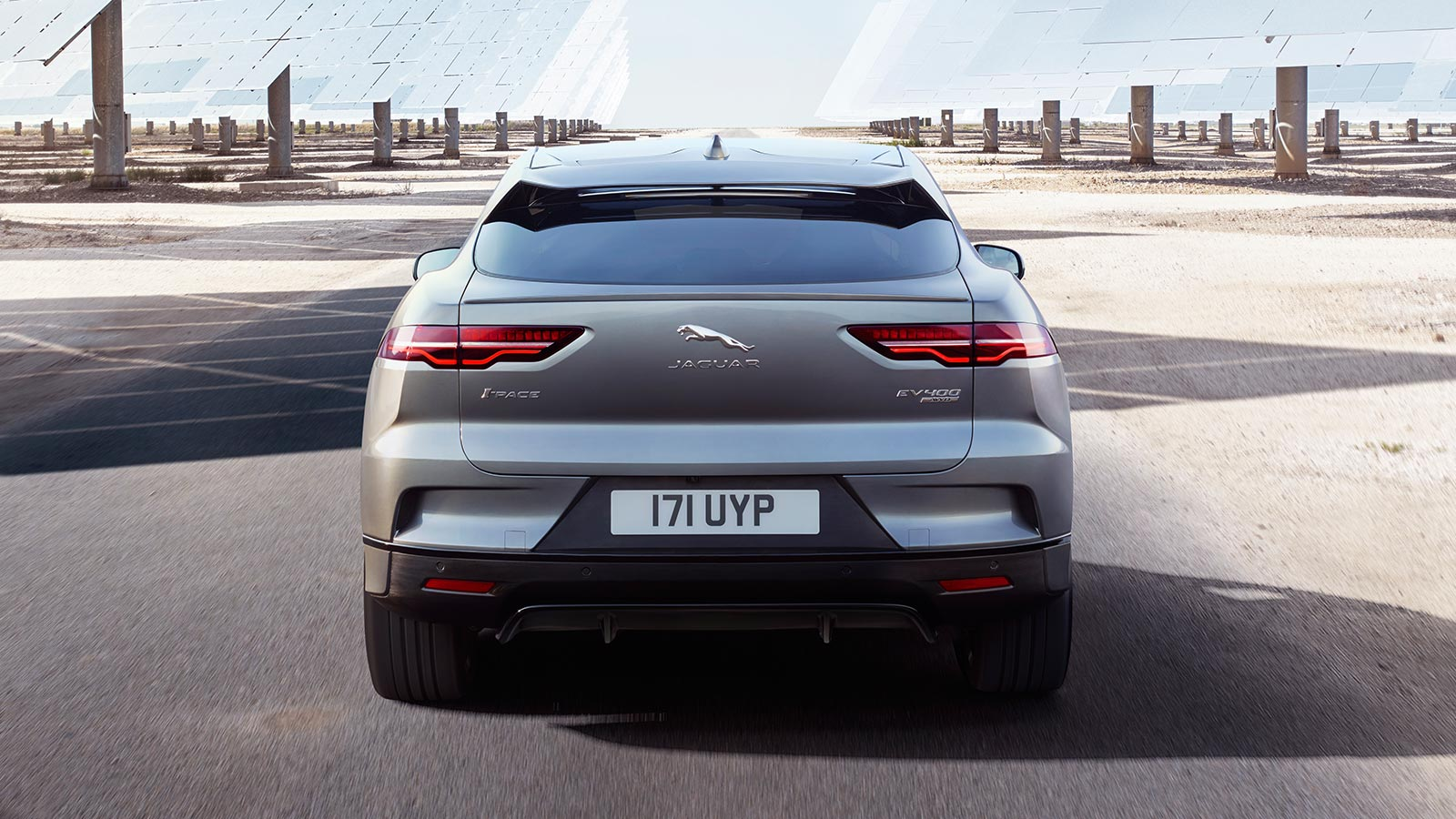 Rear Vieew of Jaguar I-PACE